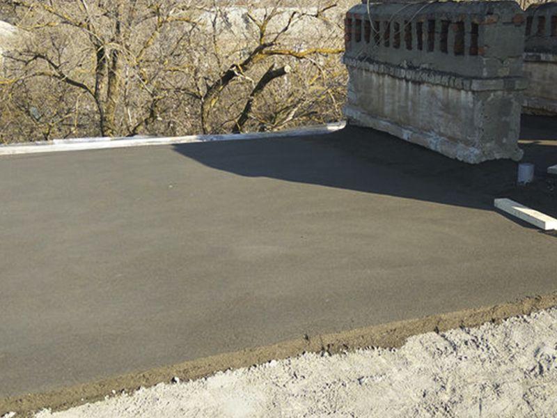 Цементный раствор для цементной стяжки кровли бетонная смесь эмако