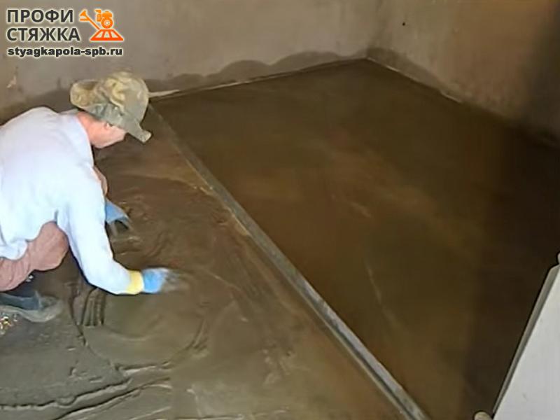 Как сделать пол из песка 16